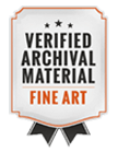 Verified Archival Material Fine Art
