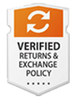 verified return and exchange policy